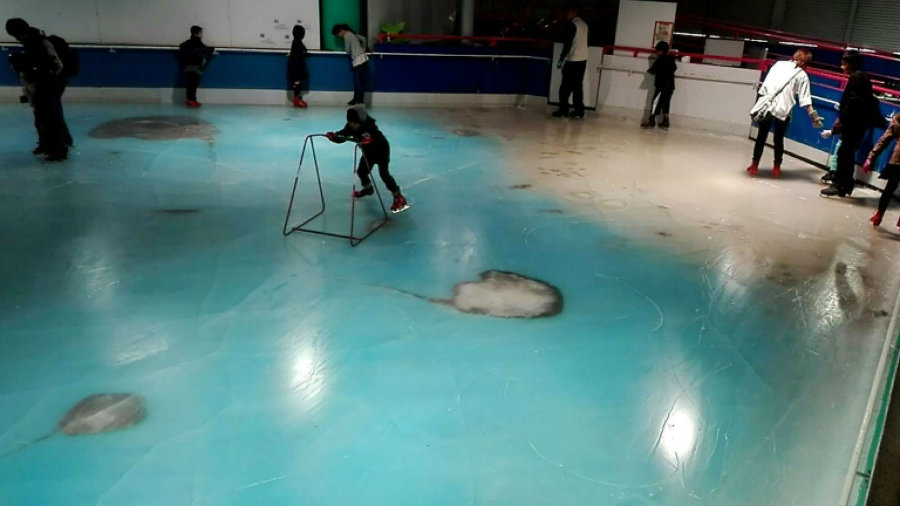 The premiere of the attraction brought a wave of online criticism that forced the park to close its rink immediately. Photo credit: Nigeria Today