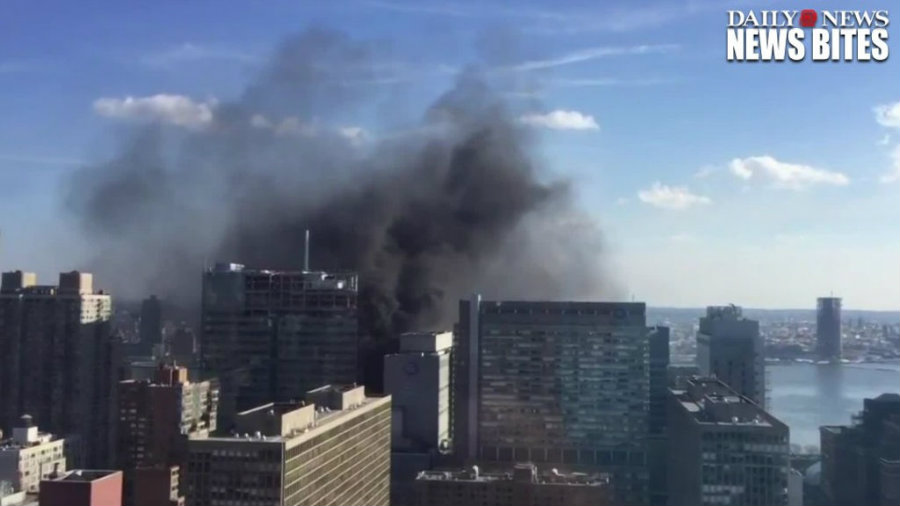 A fire at an NYU Langone Medical Center leaves one injured