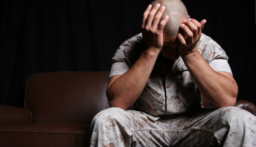 PTSD occurs after a person experiences a traumatic event, often where physical harm is involved in some way. Photo credit: Mirror Daily / The Dailypedia