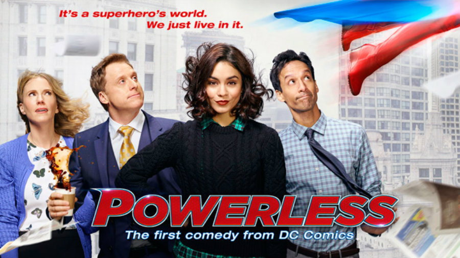 """Powerless is going to debut February 2, 2017."""" Photo credit: Super Hero Hype"""