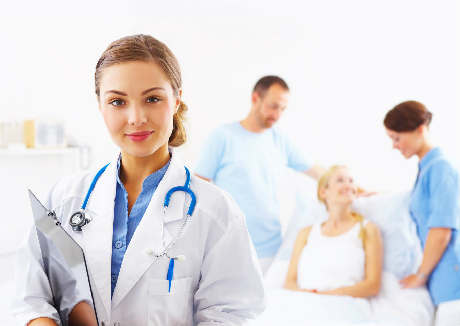 According ot a Harvard study, female doctor's patients live longer than those treated by men. Photo credit: Gulfjobvacancy.com