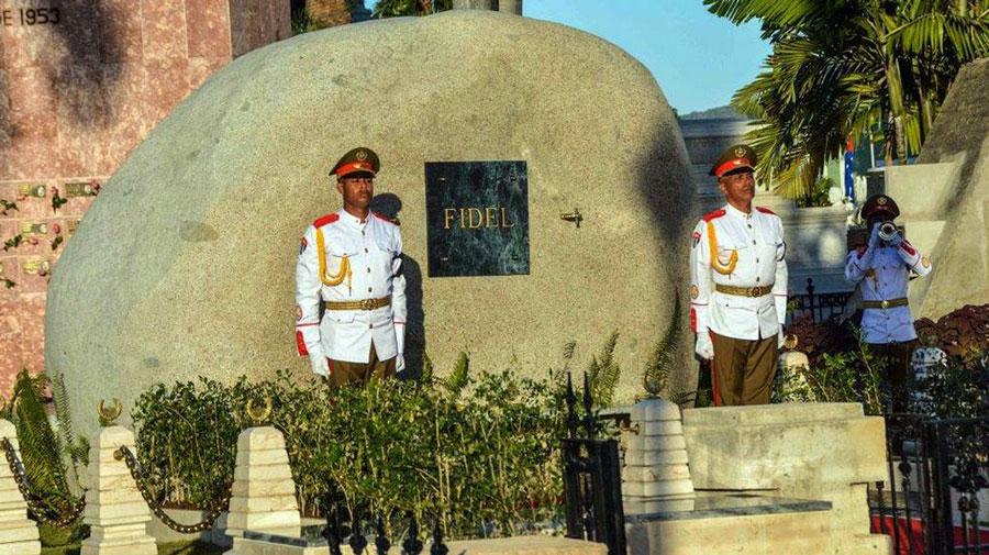 Fidel Castro Burial. Image Credit: Marcelino Vazquez/EFE