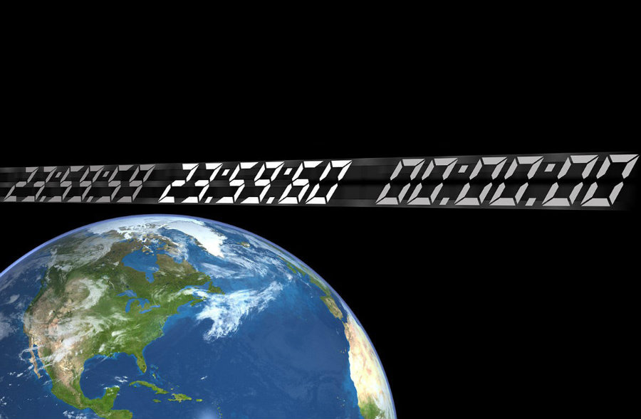 It is not the first time a leap second, as it is called occurs. Photo credit: NASA / Space.com