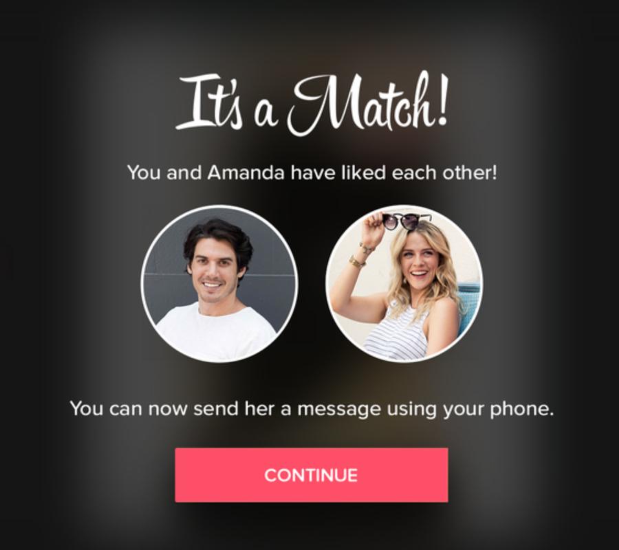 Tinder for Apple TV. Image credit: Tinder.