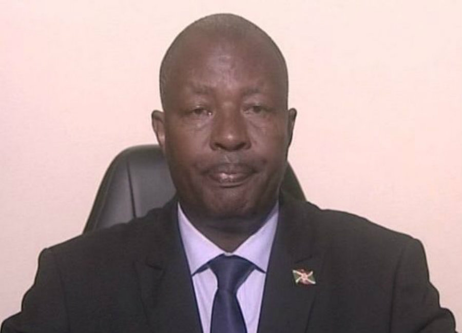 Burundi's environment minister, Emmanuel Niyonkuru, was shot dead early Sunday. Photo credit: TODAY