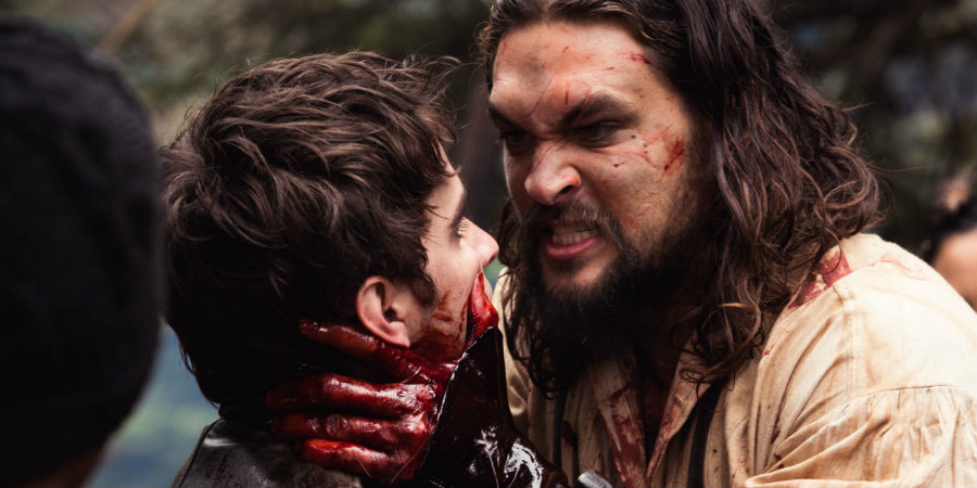 "Actor Jason Momoa talked about his new TV series ""Frontier."" Photo credit: Screen Rant"