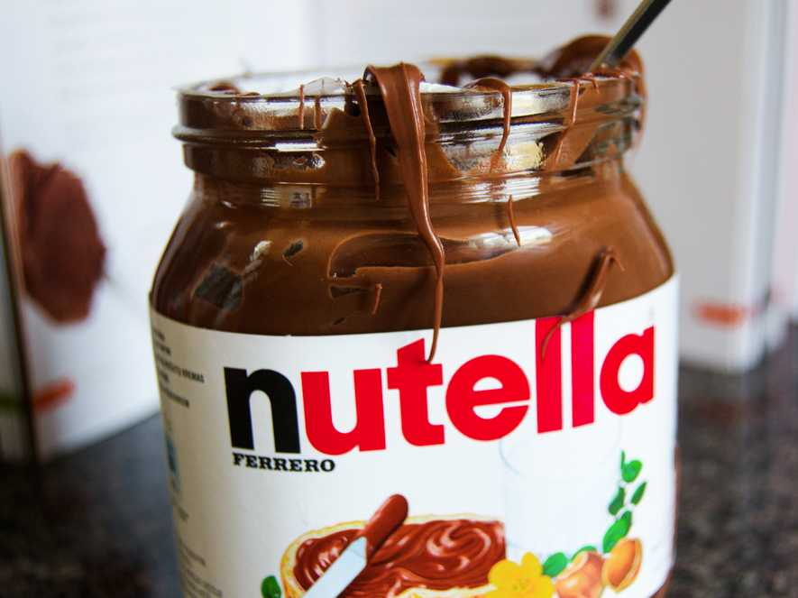 According to the Ferrero campaign, Nutella is a 100 percent safe-to-eat product. Photo credit: Ecoosfera