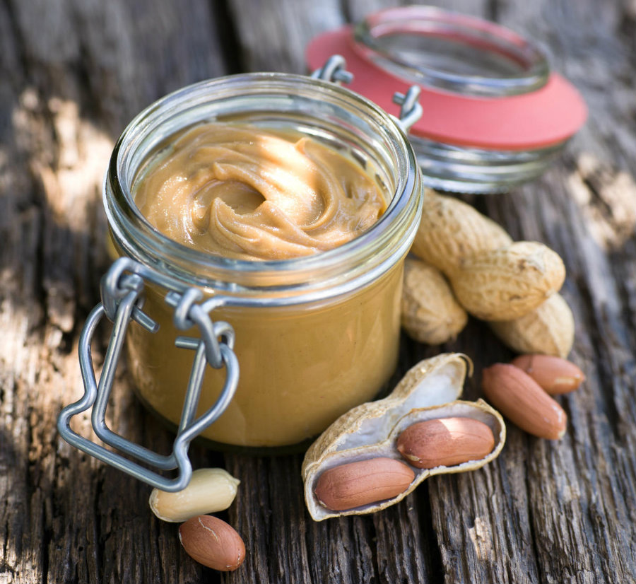 Scientists recommend the inclusion of peanut into the newborn's food regime to avoid a future allergy. Photo credit: Parents