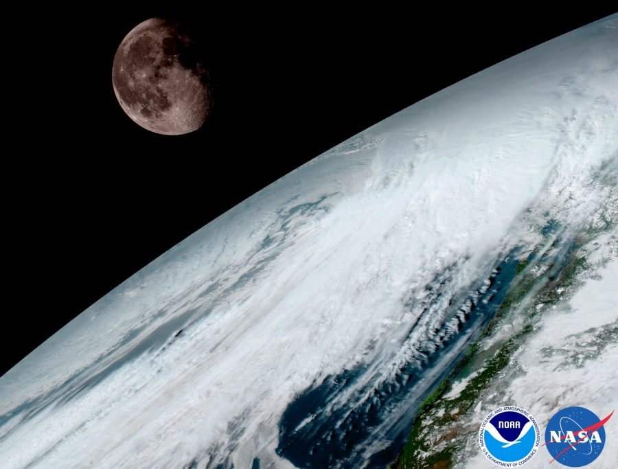 NASA, NOAA.
