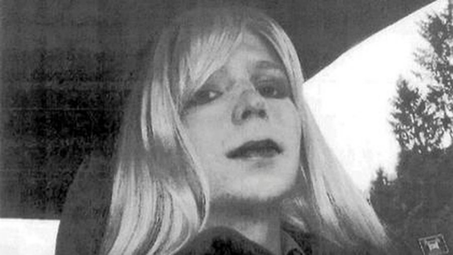 Chelsea Manning called Obama a weak leader. Image credit: Democracy Now Twitter