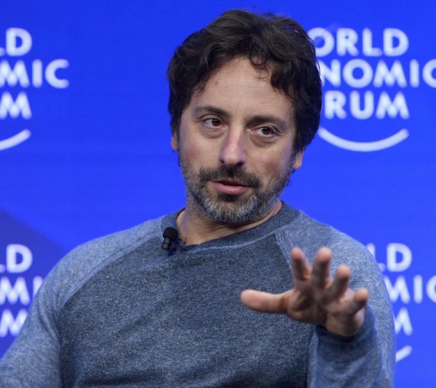 Google's Sergey Brin