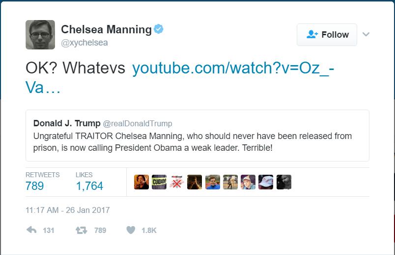 manning tweet