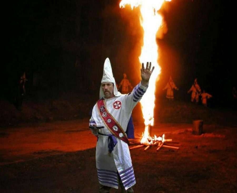 Ancona was known as the imperial wizard. Image credit: The Kansas City Star