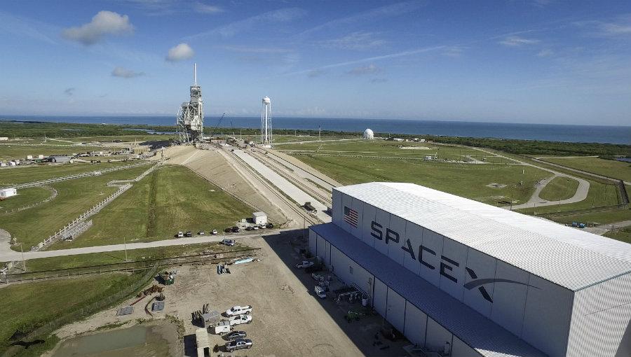 Launch complex 39-A. Image credit: NASA