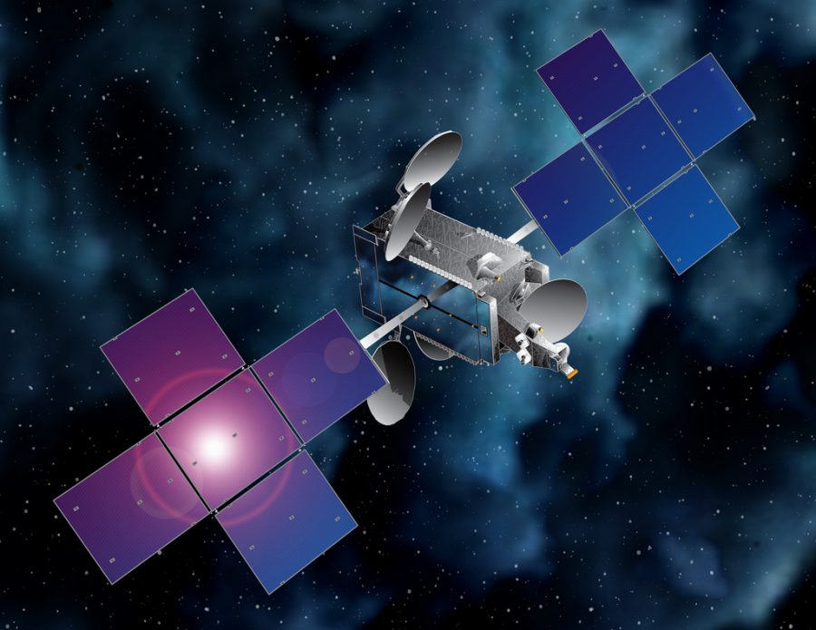 Artist's concept of EchoStar 23 Satellite