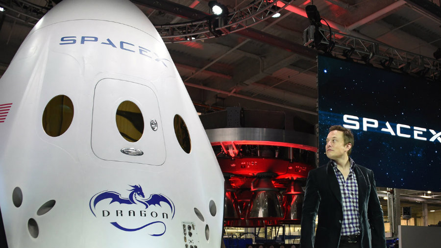 Billionaire Elon Musk, president and chief executive of SpaceX, has reunited several times with Trump's advisors. Image credit: Pics About Space / Leaderonomics.com