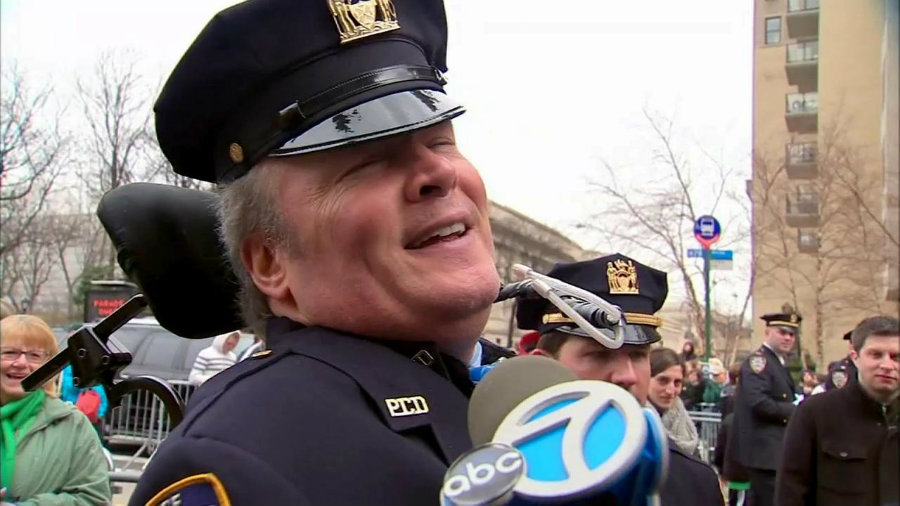 Marchers will also be honoring NYPD Detective Steven McDonald. Image credit: ABC 7