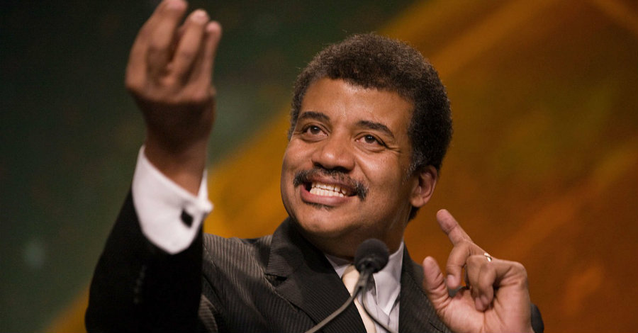 "Neil deGrasse Tyson said that President Trump's proposed budget will make America ""weak"" and ""stupid."" Image credit: Reddit"