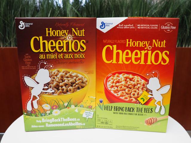 Cheerios #Bringbackthebees