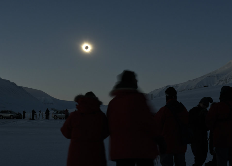 Total solar eclipses are an emotional experience for many. Image credit: Valerie Hwang / Discover Magazine