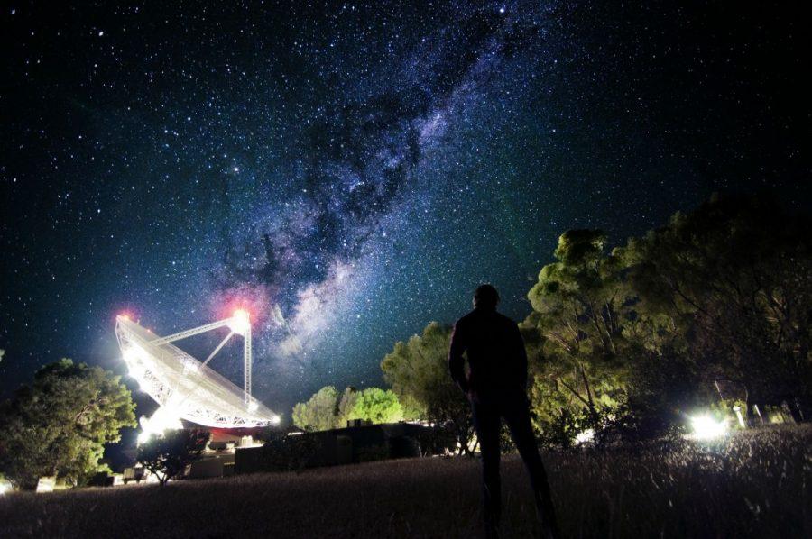 Parkes observatory in Australia