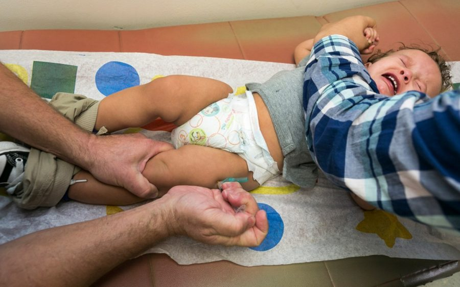 Measles outbreak in Minnesota