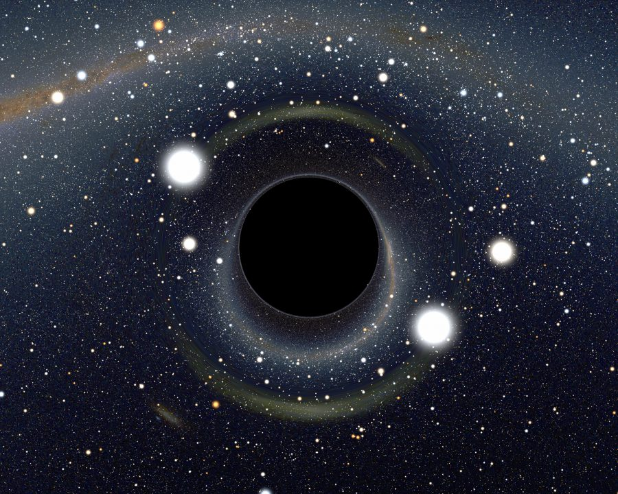 A supermassive black hole