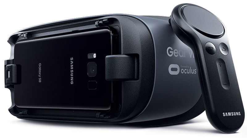 A Samsung Gear VR Controller. Image credit: Slash Gear.