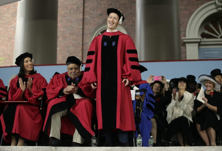 Mark Zuckerberg at Harvard