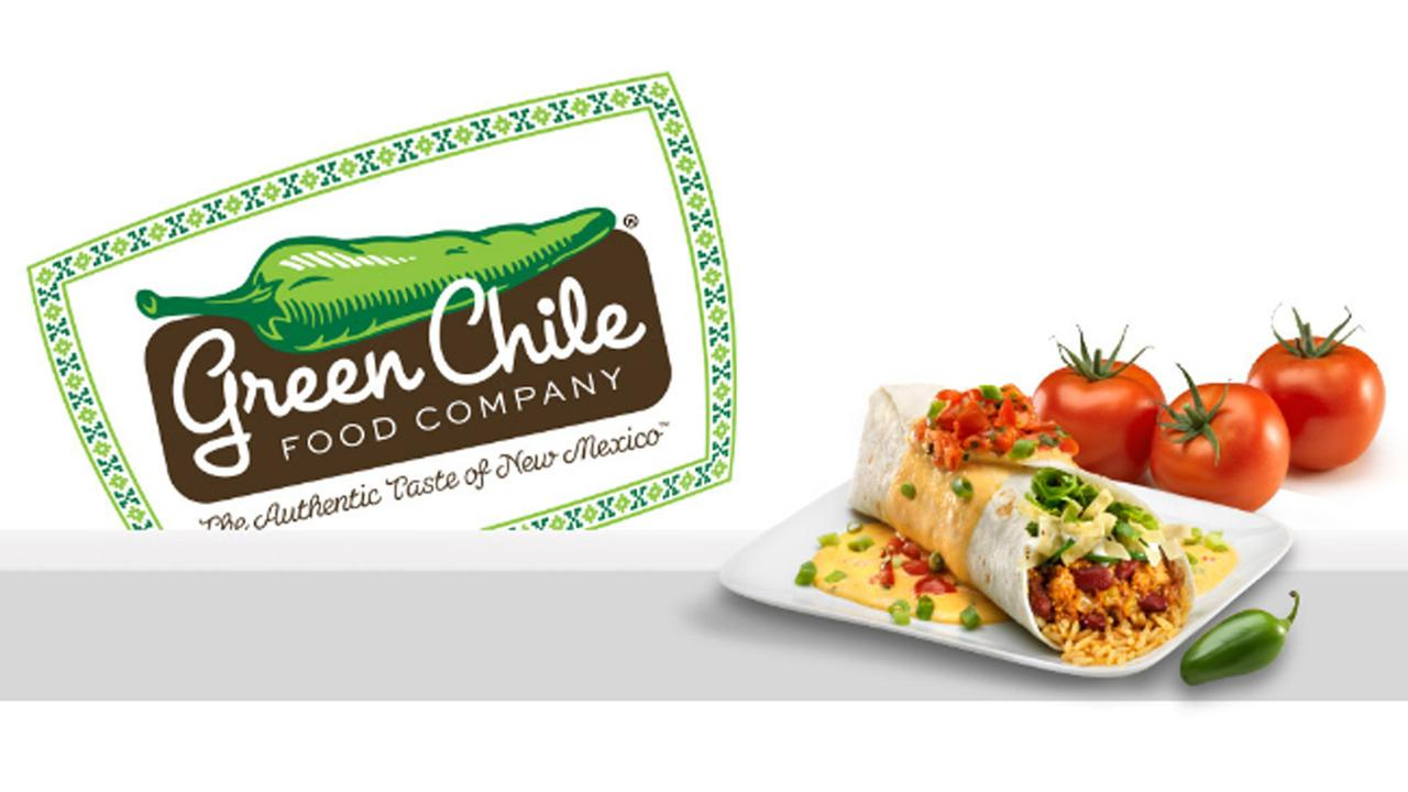 Green Chile Burritos