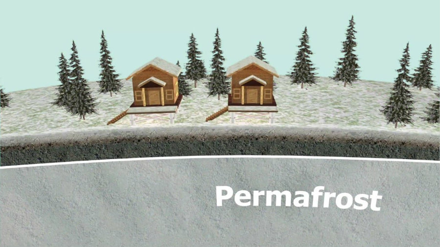Permafrost is a frozen layer of Earth that is intended to be permanent. Image credit: Alfred-Wegener-Institut, Helmholtz-Zentrum für Polar- und Meeresforschung Youtube Channel