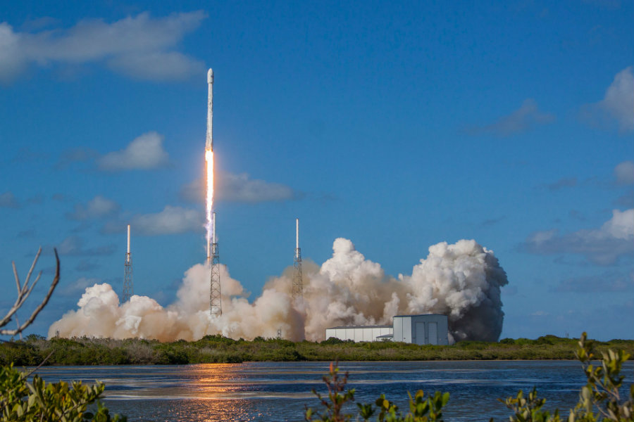 Rocket launches will then be taxed, just like transportation companies down on Earth. Image credit: Kennedy Space Center