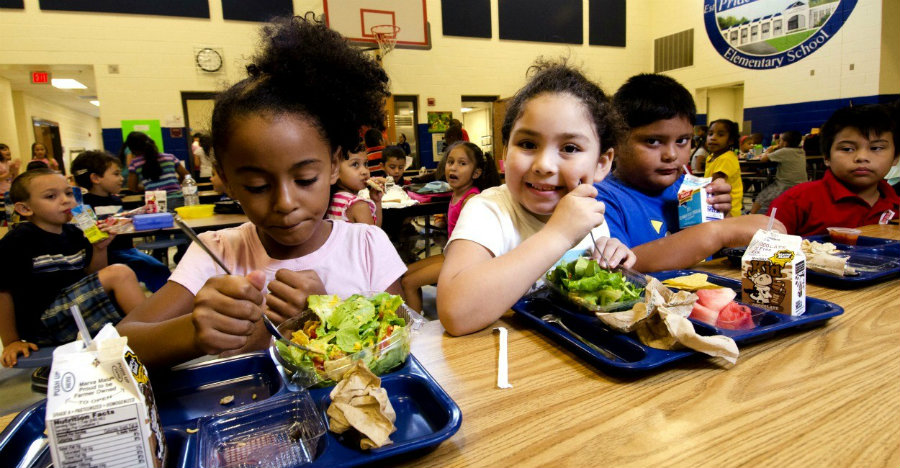 According to Perdue, the new guidelines will make food choices both healthful and appealing to students. Image credit: Lance Cheung / ZUMA Press / Newscom / The Daily signal