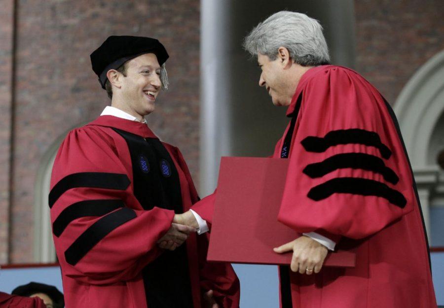 Mark Zuckerberg at Harvard