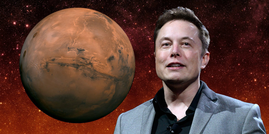 SpaceX CEO Elon Musk released on Wednesday his plans for building a 1-million-person city on Mars as soon as 2020. Image credit: Getty Images / Shutterstock / NASA / Dave Mosher / Business Insider