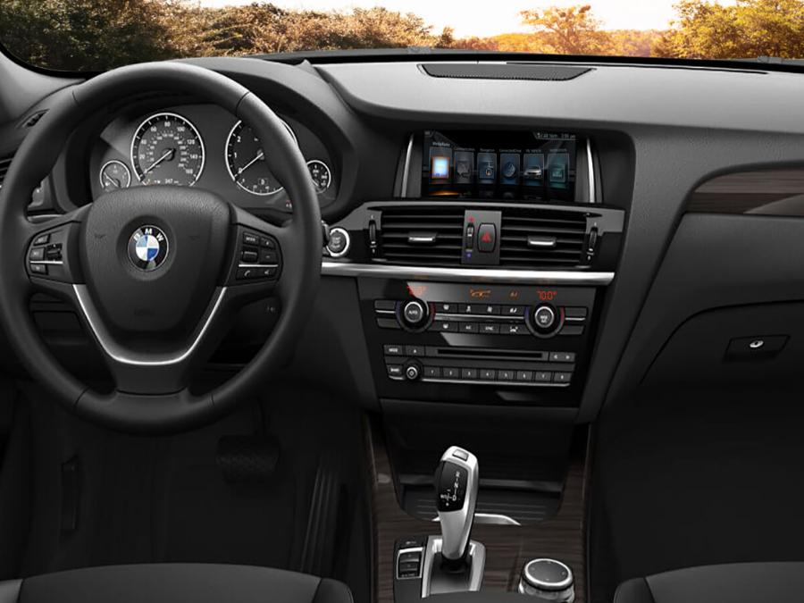 BMW X3's interior. Image Credit: BMW Blog