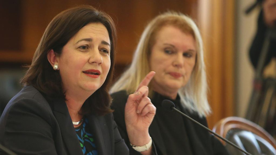 """The Great Barrier Reef is one of Queensland's greatest assets. That's why the budget includes $100 million to protect it and the jobs it supports for Queenslanders,"" assured Palaszuk on her Facebook page. Image Credit: The Courier-Mail"