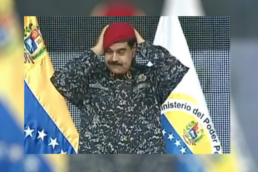 """I look like Saddam Hussein,"" stated Maduro on July 15. Image Credit: Infobae"