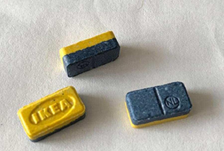 IKEA ecstasy pills. Image Credit: Manx Radio