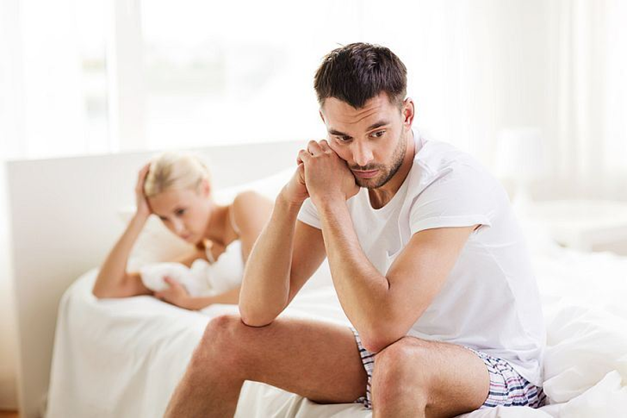 "Sexual performance anxiety triggers the hormones involved in the ""fight or flight"" state of mind, according to WebMD. Image Credit: Expertrain"