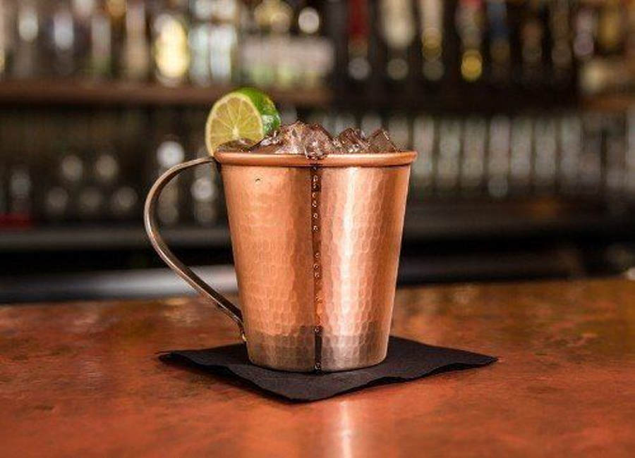 Drinking from copper mugs may cause poisoning. Image Credit: Willow & Everett