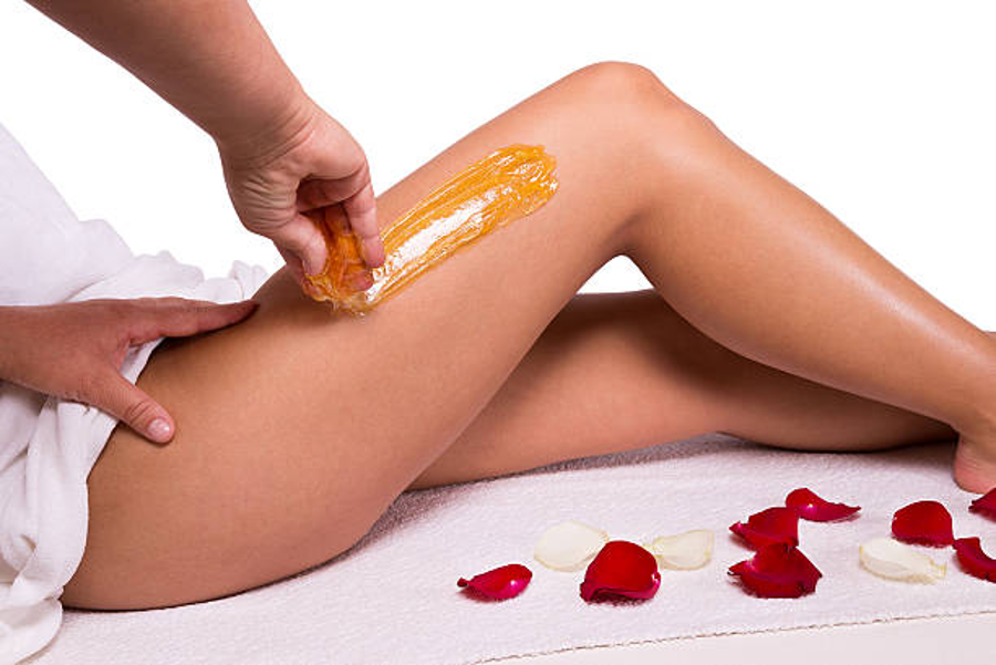 Waxing incorrectly can result in injuries, so it is best to go see a professional. Image Credit: iStock