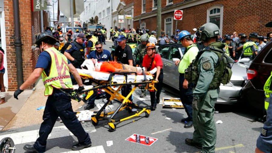 Autorities declared a state of emergency in Virginia after the Aug. 12 incident. Image Credit: AP/Steve Helber