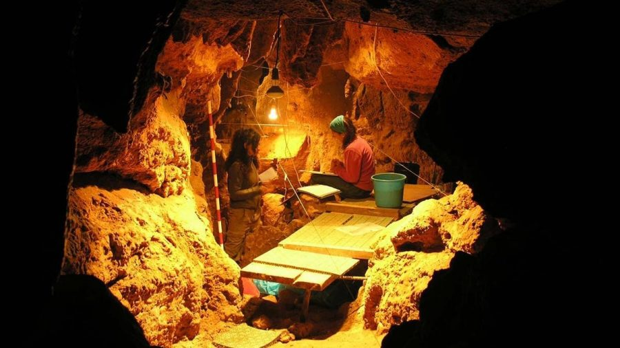 Galería del Osario, Spain, where the Neanderthal skeleton was found. Image Credit: Paleoanthropology Group MNCN-CSIC