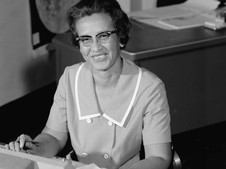 Katherine Johnson at NASA in 1966. Image credit: National Air and Space Museum