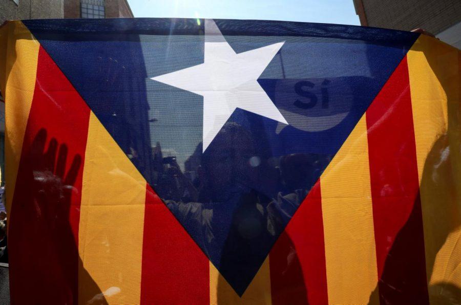 Catalonia, Estelada, Spain