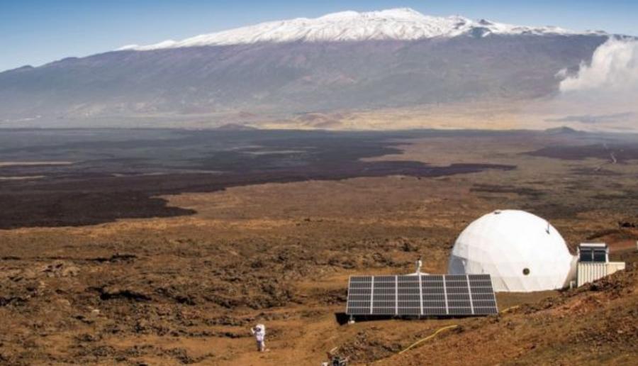 The HI-SEAS in Mauna Loa, Hawaii. Image Credit: BBC