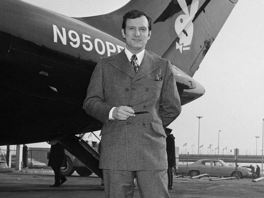 A young Hugh Hefner. Image credit: Associated Press