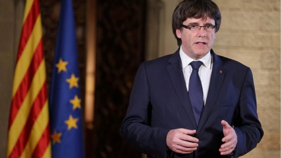 Catalonia independence, Spain political crisis, Puigdemont in Belgium