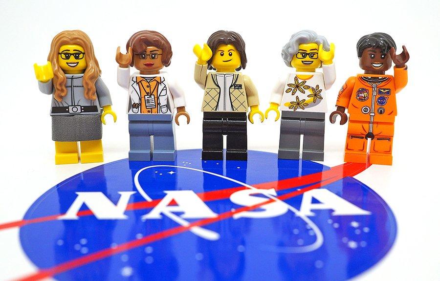 LEGO Women in NASA, New LEGO NASA figures, Sally Ride